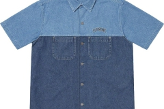2-Tone Denim S/S Shirt: ca. 128€
