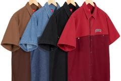 2-Tone Denim S/S Shirt: ca. 128€