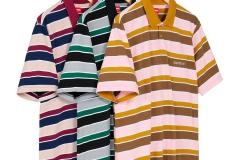 Classic Logo Stripe Polo: ca. 98€